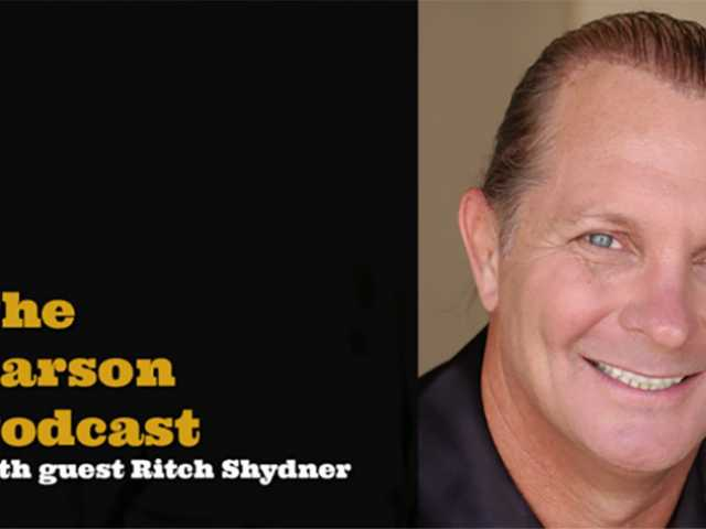 Ritch Shydner on the Carson Podcast